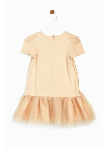 Lia Lea Kız Çocuk Bej Elbise Bej